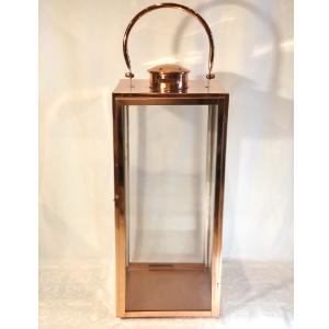 Lg. Lantern W/Metal Handle