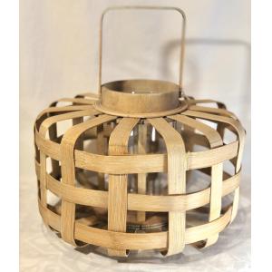 Lg. Bamboo D Lantern