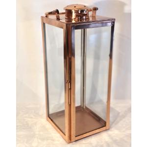 Sm. Lantern W/Metal Handle