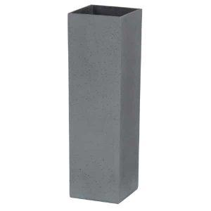 Stone Resin Pot 12×4 Anthracite